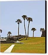 Castillo De San Marcos St Augustine Fl Canvas Print by Christine Till