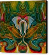Casting Spells Canvas Print by Omaste Witkowski