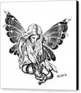 Cat Fairy  Canvas Print by Peter Piatt