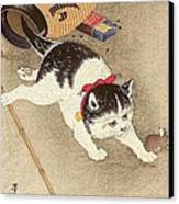 Cat Canvas Print by Pg Reproductions