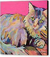 Catatonic Canvas Print by Pat Saunders-White