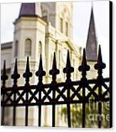 Cathedral Basilica Canvas Print by Scott Pellegrin