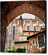Cathedral Of Ste-cecile In Albi France Canvas Print by Elena Elisseeva