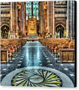 Cathedral Way Canvas Print by Adrian Evans