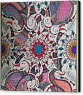 Celebration Of Design Canvas Print by M Ande