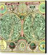 Celestial Map Canvas Print by Gary Grayson