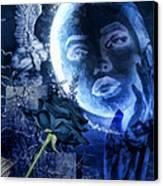 Celestine Canvas Print by Mo T