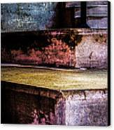 Cement Steps Number One Canvas Print by Bob Orsillo