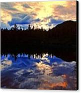 Center Pond Canvas Print by Tim  Canwell