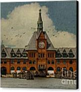 Central Railroad Of New Jersey Canvas Print by Juli Scalzi