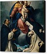 Ceresa Carlo, Our Lady Of The Rosary Canvas Print by Everett