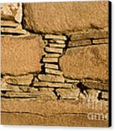 Chaco Bricks Canvas Print by Steven Ralser