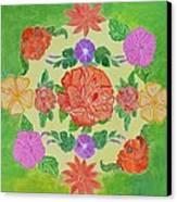 Chaitra Mandala Canvas Print by Sonali Gangane