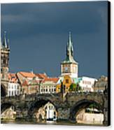 Charles Bridge Prague Canvas Print by Matthias Hauser