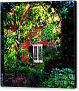 Charleston's Charm And Hidden Gems  Canvas Print by Susanne Van Hulst