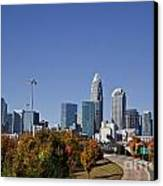 Charlotte North Carolina Canvas Print by Jill Lang