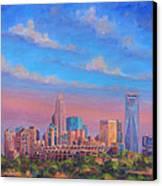 Charlotte Skies Canvas Print by Jeff Pittman