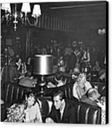 Chasen's Hollywood Restaurant Canvas Print by Underwood Archives