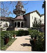 Chateau St. Jean Winery 5d22201 Canvas Print by Wingsdomain Art and Photography