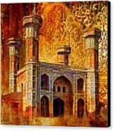Chauburji Gate Canvas Print by Catf