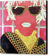 Cheap Sunglasses Canvas Print by Diane Fine