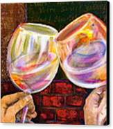 Cheers Canvas Print by Debi Starr