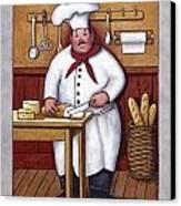 Chef 3 Canvas Print by John Zaccheo
