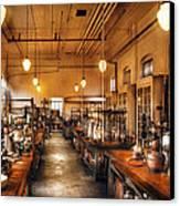 Chemist - The Chem Lab Canvas Print by Mike Savad