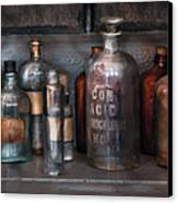 Chemist - Things That Burn Canvas Print by Mike Savad