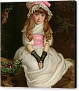Cherry Ripe Canvas Print by Sir John Everett Millais