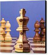 Chess Corporate Merger Canvas Print by Colin and Linda McKie
