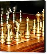 Chess Set  Canvas Print by Diane Merkle