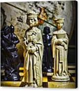 Chess - The Sacrifice Canvas Print by Paul Ward