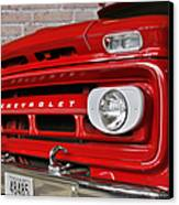 Chevy Beaumont Fire Museum Tx Canvas Print by Christine Till
