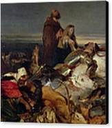 Chevy Chase Canvas Print by Sir Edwin Landseer