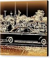 Chevy Glow Canvas Print by Bobbee Rickard
