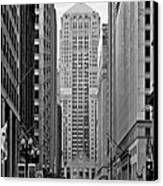 Chicago Board Of Trade Canvas Print by Christine Till