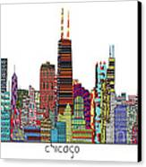 Chicago City  Canvas Print by Bri B