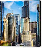 Chicago High Resolution Picture Canvas Print by Paul Velgos