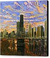 Chicago Canvas Print by Mike Rabe