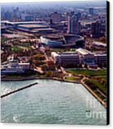 Chicago Museum Park Canvas Print by Thomas Woolworth