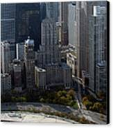 Chicago The Drake Canvas Print by Thomas Woolworth