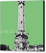 Chicago Water Tower - Apple Canvas Print by DB Artist