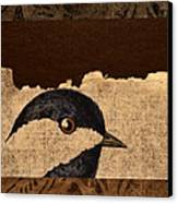 Chickadee Canvas Print by Carol Leigh