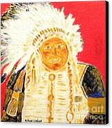 Chief Seattle 1 Canvas Print by Richard W Linford