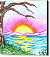 Childlike Wonder Canvas Print by Shawna Rowe