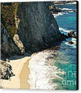 China Cove At Point Lobos State Beach Canvas Print by Artist and Photographer Laura Wrede
