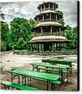 Chinesischer Turm I Canvas Print by Hannes Cmarits
