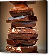 Chocolate Canvas Print by Elena Elisseeva
