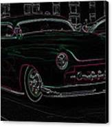 Chopped Merc Glow Canvas Print by Steve McKinzie